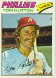 1977 Topps Baseball Cards      264     Tom Hutton